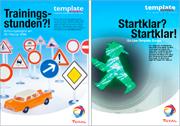 Plakatgestaltung Serie - durchgedacht, die günstige Werbeagentur in Berlin